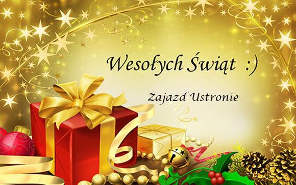 życzenia świąteczne zajazd ustronie